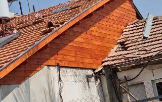 חידוש גג ישן לפני ואחרי